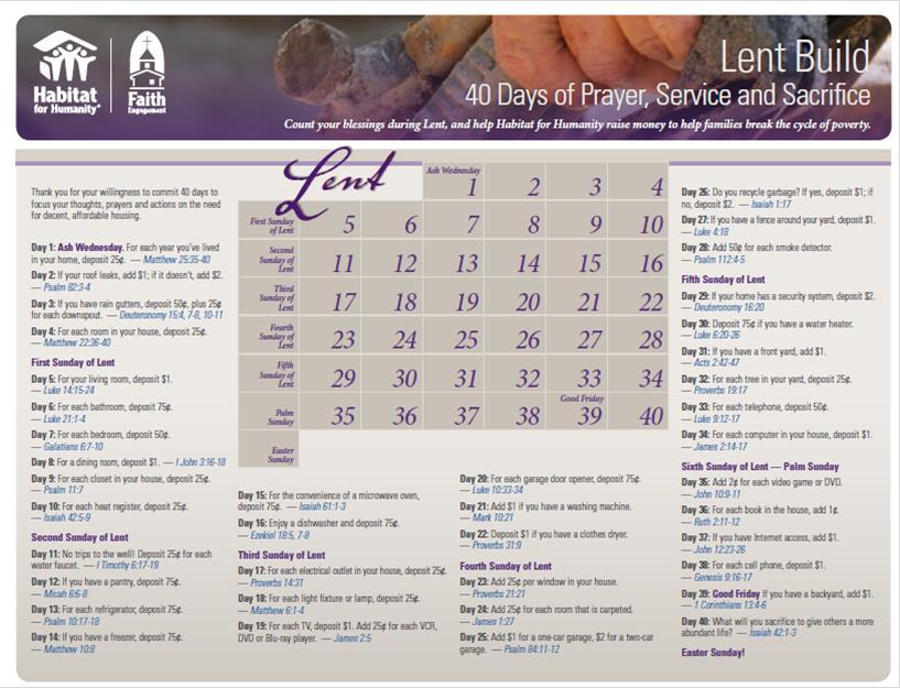 40 Days of Lent Habitat.png Home