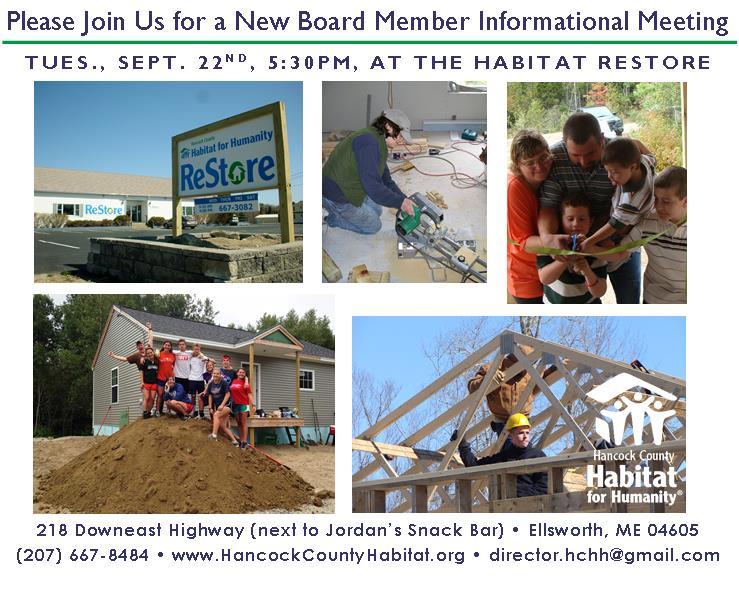 New Board Member Invite Home