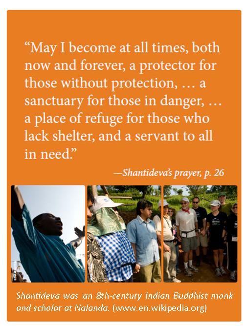 Shantideva quote Building on Faith 2016 Home