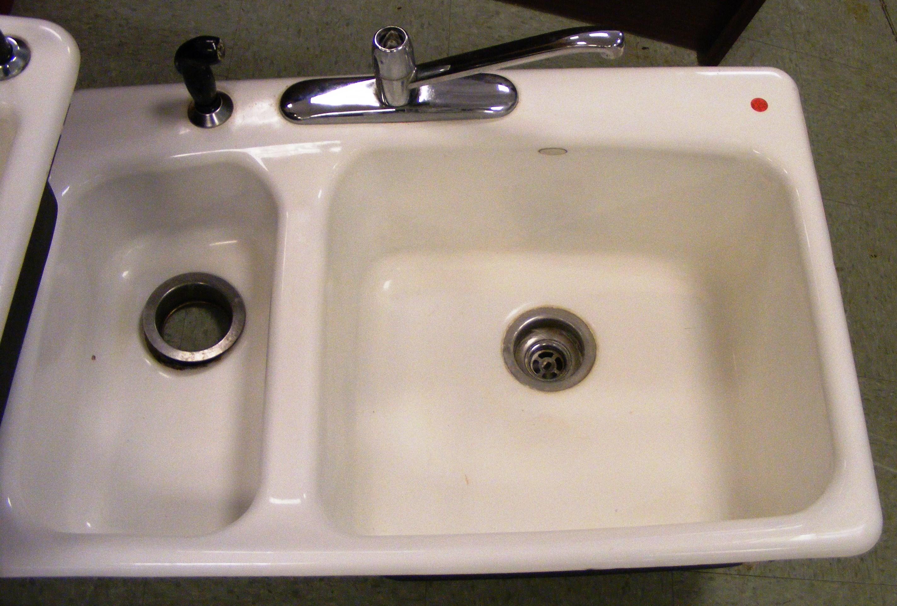 enamel sink 2 hancock county habitat for humanity